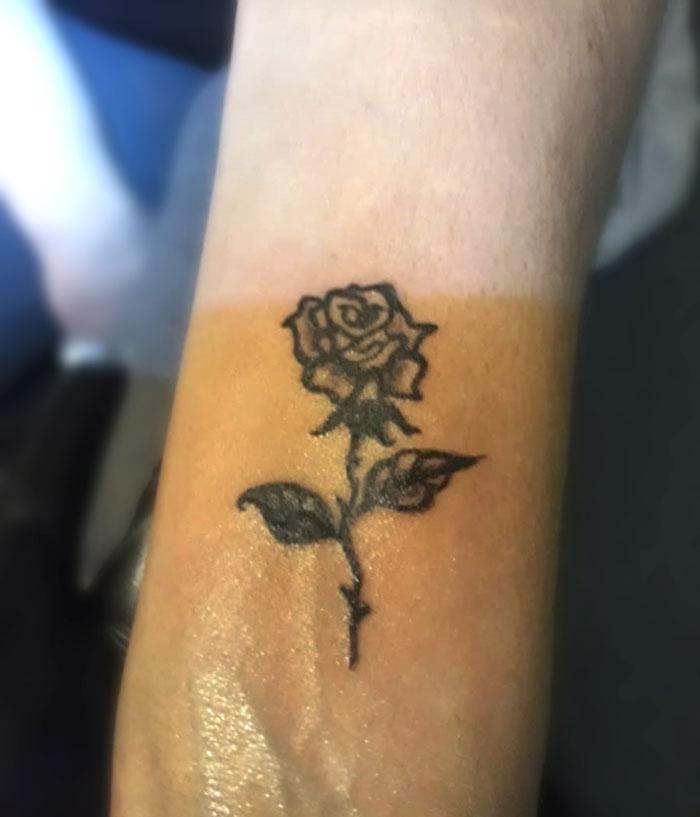 dövme, minimal dövme, tattoo, dövme modelleri,çiçek dövmesi