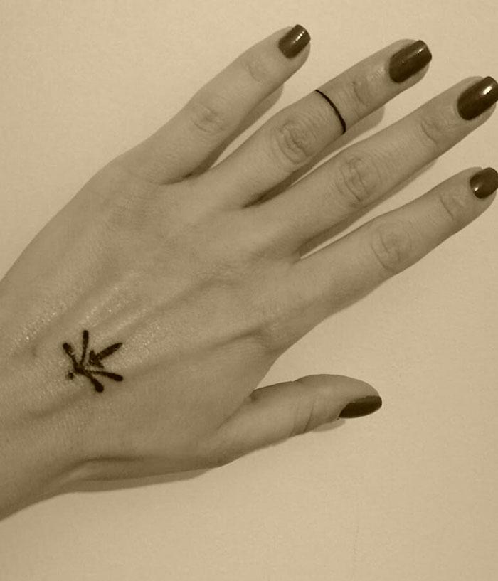 dövme, minimal dövme, tattoo, dövme modelleri, el dövmesi