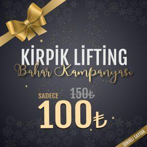 kirpik lifting kampanyası